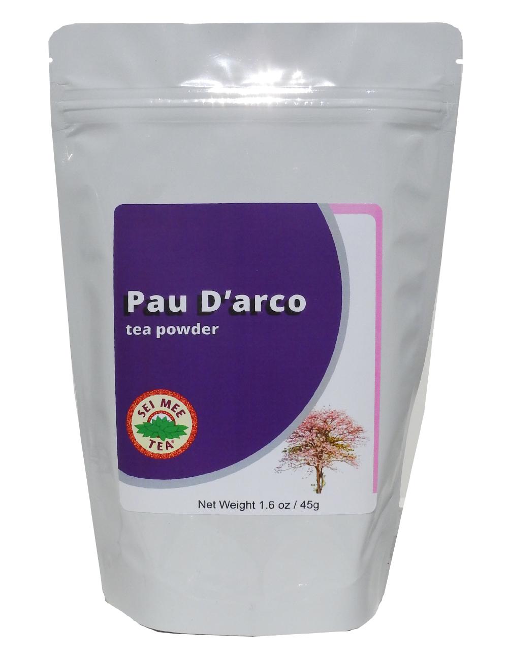 Pau D Arco Tea Powder Sei Mee Tea Llc